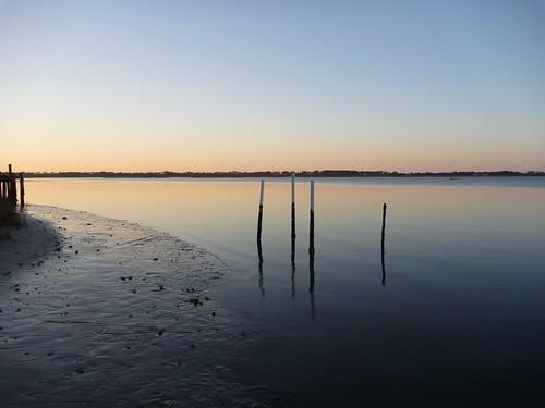 Alligator Harbor at sunrise