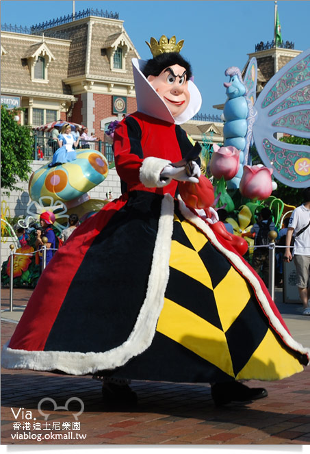 【香港迪士尼】跟著via玩香港(3)~迪士尼卡通人物歡樂巡遊20