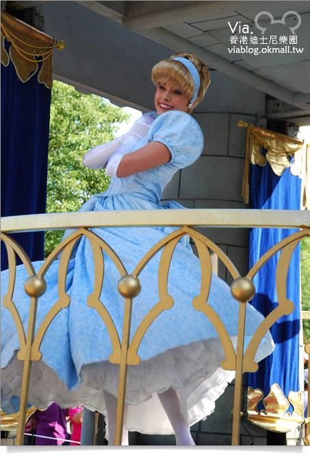 【香港迪士尼】跟著via玩香港(3)~迪士尼卡通人物歡樂巡遊50
