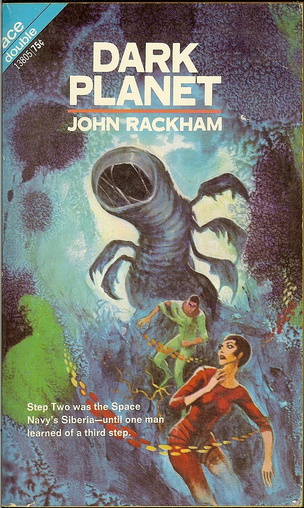 Jack Gaughan - Cover Illustration for John Rackham - Dark Planet