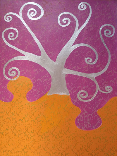 Talidari painting - Magic tree
