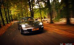 Camouflaged.. (Luuk van Kaathoven) Tags: road autumn drive 911 explore porsche van 4s targa 997 luuk explored drivingfun luukvankaathovennl kaathoven
