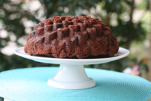 Chocolate Mint Bundt - I Like Big Bundts