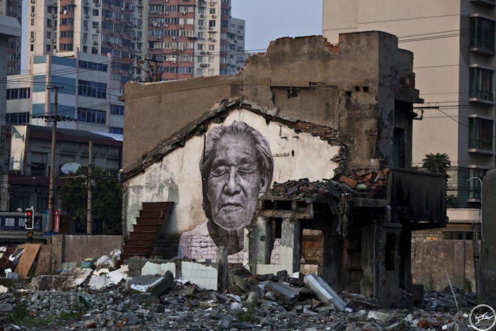 5127624748 77d172d4d2 b Artist JR   Street art raising questions across the world [24 Pics]