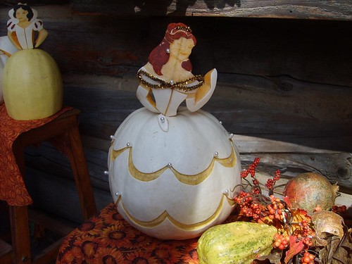 38 Inspiration - Belle Pumpkin Photo by OddballArtist
