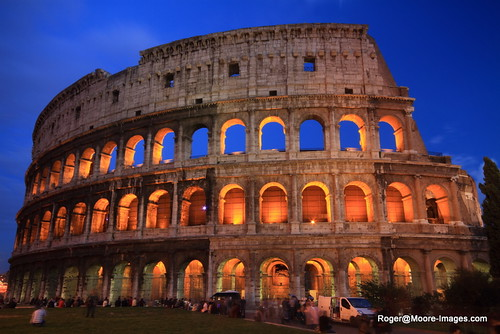 The Colosseum at Twilight
