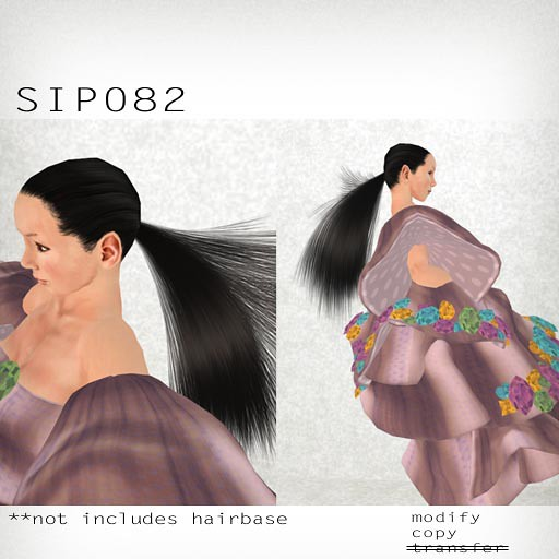 booN SIP082 hair
