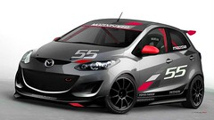 Final Sketch of the MAZDA2 Evil Track Car (MAZDA USA) Tags: lasvegas sema mazda mazda2 sema2010