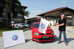 Volkswagen Media Drive - Flag off