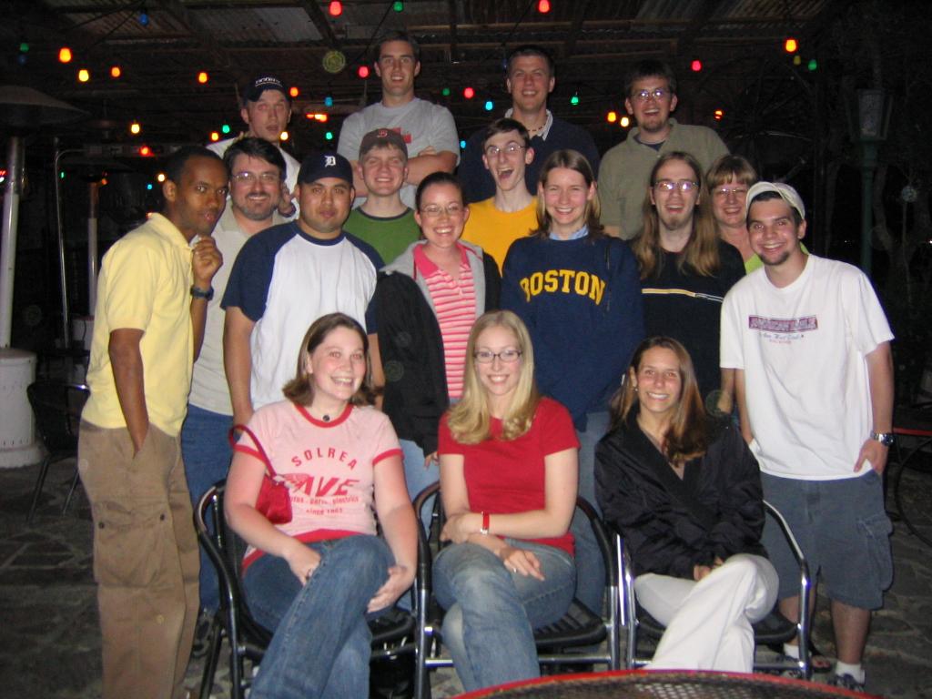 2003-2004 Optimist Staff