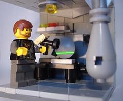 Genii lab (FilipS™) Tags: lego atlantis bunker stargate sga vignette moc genii vig