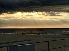 Boardwalk Sunrise (tmrae) Tags: jerseyshore newjersey sunrise boardwalk beach oceangrove morningrun