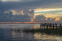 Sunset over Lake Washington (Michael Seeley) Tags: canon fl florida lake lakewashington landscape melbourne michaelseeley mikeseeley shoreline spacecoast sunset