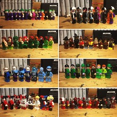 Variants (LordAllo) Tags: lego dc batman villains collection variant variants the joker twoface two face poison ivy scarecrow mister freeze mr riddler harley quinn deadshot classic long halloween dark knight animated series btas movie 1960s justice league unlimited injustice 2 arkham asylum city concept art suicide squad