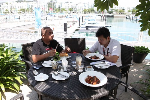 Melo with Wilson Wong @ Prive Bakery Cafe