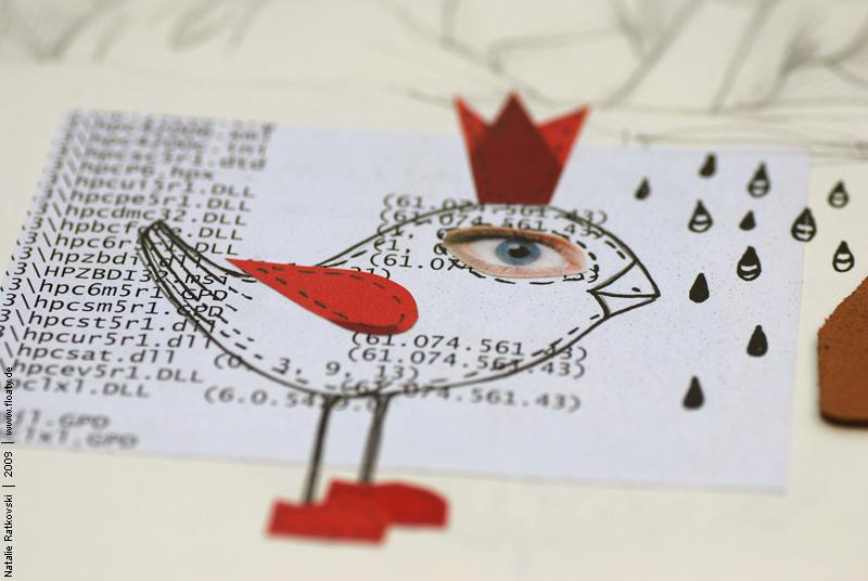 Paper birds, 01