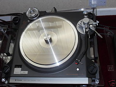 Trio LO-7D turntable (fpo22p) Tags: classic vintage moving technics turntable sl1200 trio coil eighties hifi directdrive litz dynavector sp10 lo7d