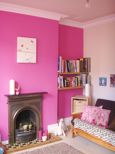 PINK Living Room Wall