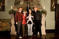 Bryan, Cherry, Maria with Owen, Gordon