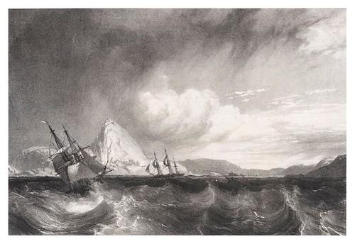 007- Entrada a la rada de Rio de Janeiro- Rugendas Johann Moritz- Viagem pitoresca através do Brasil 1835