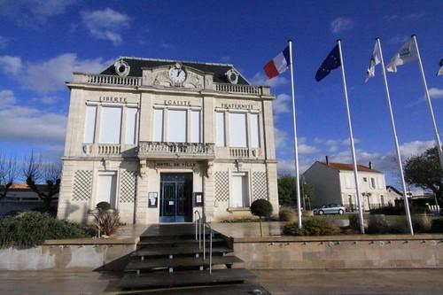 Hotel de Ville, Bourcefranc Le Chapus, France
