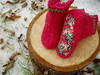 P1010060 (LILVENSHOP) Tags: girls flower wool fashion kids sweater clothing felting embroidery sewing cap childrens kimono applique apparel repurposed handsewing babybits