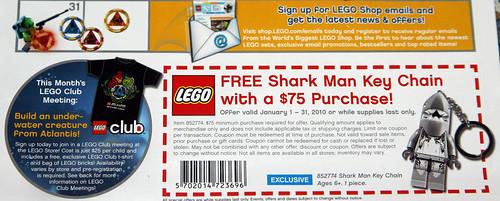2010 LEGO Store Atlantis Calendar