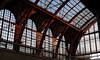 Antwerp Central Station - Arches (◄bl►) Tags: panorama station architecture geotagged iso200 belgium transport belgië transportation antwerp antwerpen architectuur lightroom vervoer canoneos5d ef70200mmf4lusm 1250secatf40