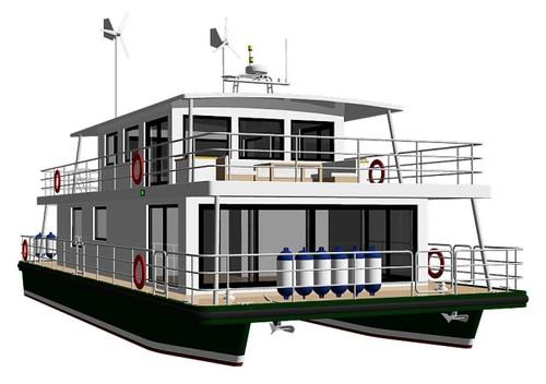 houseboat pontoon design - Page 2 - Boat Design Forums