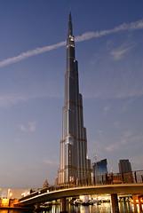 Burj Khalifa on its opening day