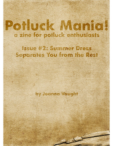 Issue 2 of Potluck Mania