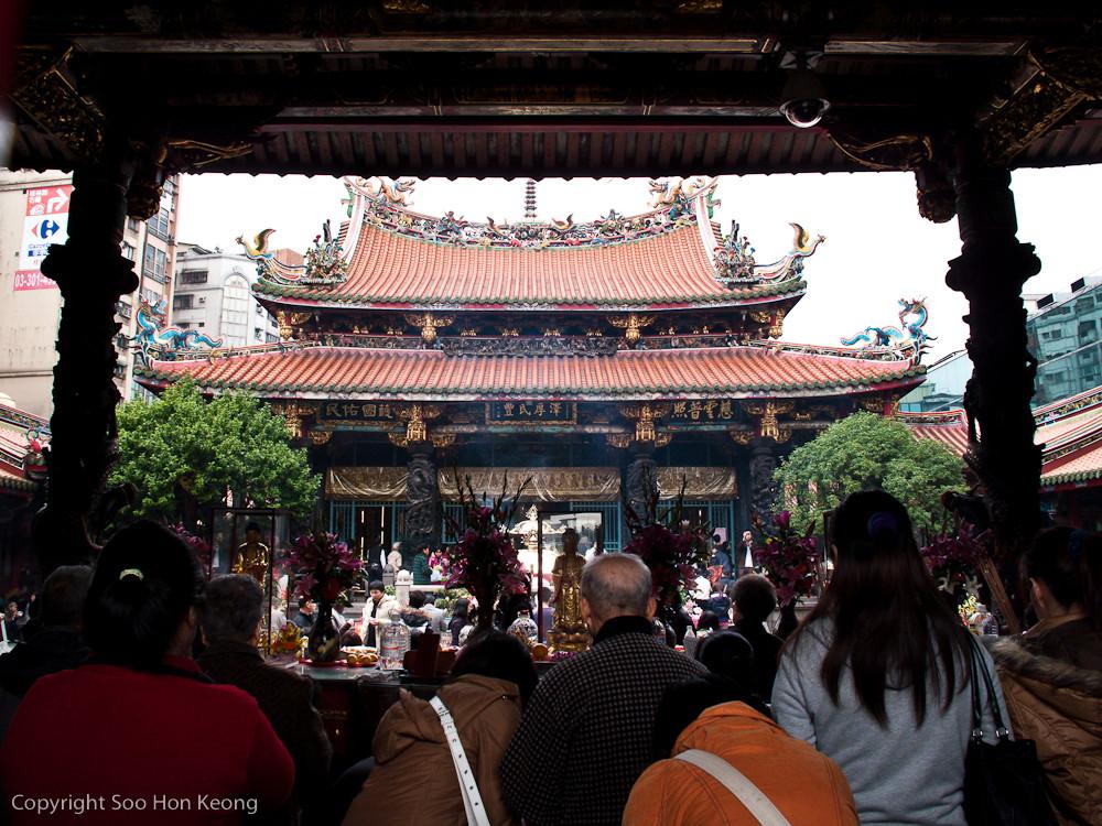 LongShan Temple @ Taipei, Taiwan
