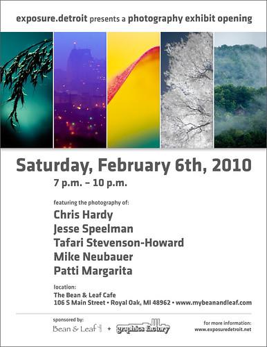EXPOSURE.DETROIT FEB 2010 EXHIBIT
