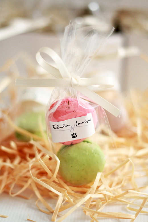Wedding Favors - Edwin & Janice