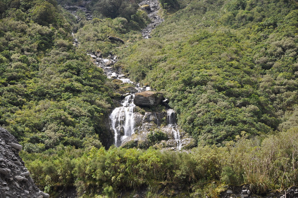 Waterfall, Fox Glacier