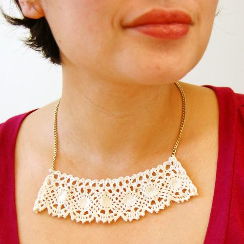 Pretty Lace Necklace