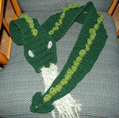 Green Dragon Scarf