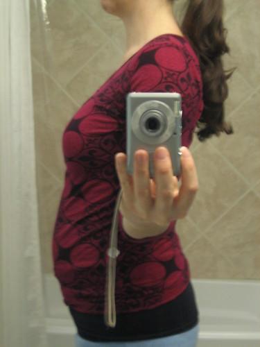 Me, 18 weeks pregnant