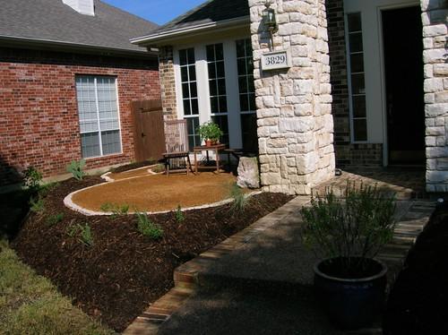 Frontyard landscape gardens