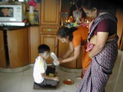 Blessing Arnama (lakshmi_amman) Tags: sankranti