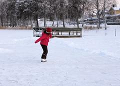 Skating_3 (Lady Fi) Tags: sweden skating frozenlake