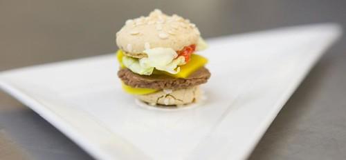 Future Food's dessert burger
