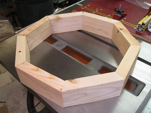 octagonal 2x4 frame