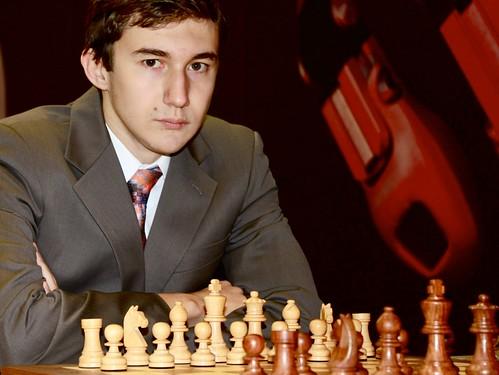 Sergey Karjakin begon scherp, maar kon nog niet winnen
