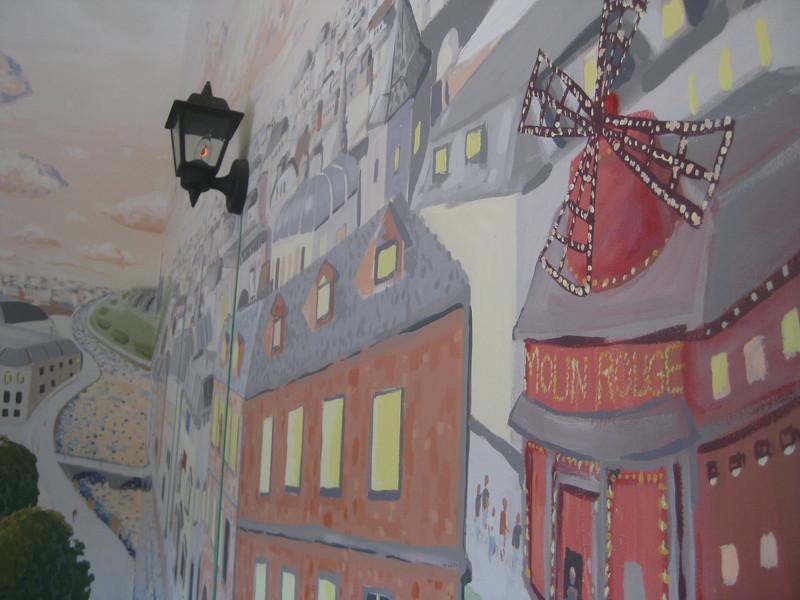 France Mural
