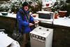 'sno a good idea to cook outside...
