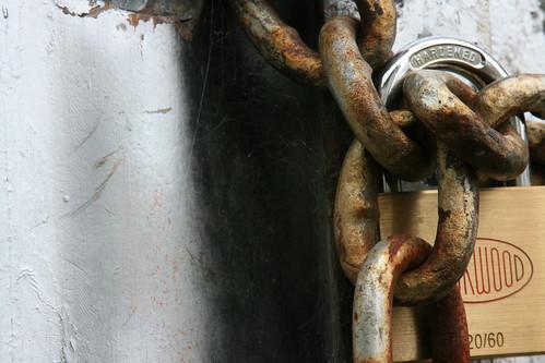 Lockwood lock and chain