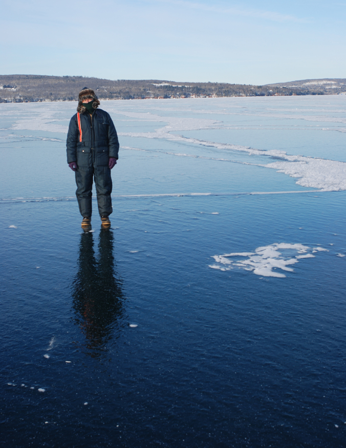 I walk on water