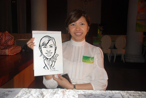 Caricature live sketching for GSK -16