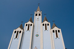 Church in Heviz, Hungary
